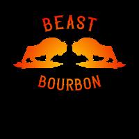 Beast Bourbon Whisky Cola Whiskey Festival Saufen