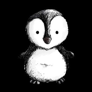 Kleiner Pinguin - Pinguine - Vogel - Königspinguin