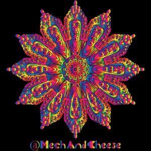 Künstlerische Mandala / Künstlerische Mandala