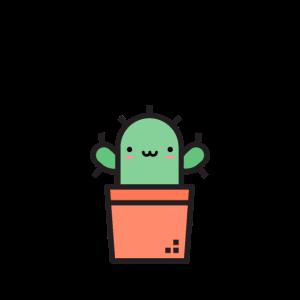 Free Hugs Kaktus Umarmungen Schwarz