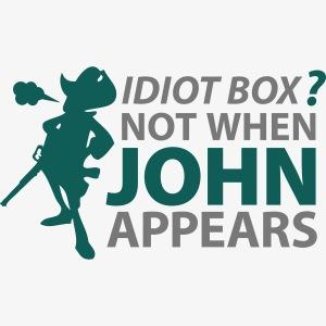 Caja tonta no con John