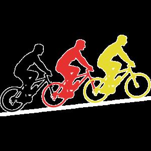 Deutschland Fahrrad Fahrradfahren Fahrradtour