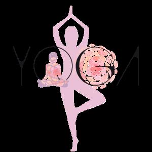 yoga frau buddha lotus asana balance meditation LO