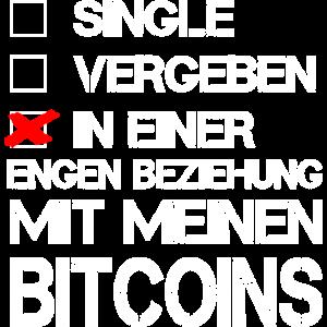 Beziehung Bitcoins