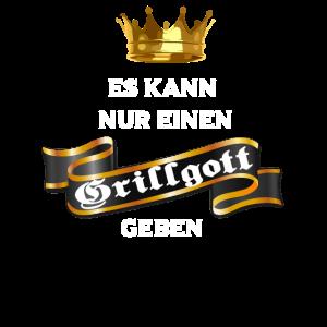 Grillen Sommer Gott Spruch König