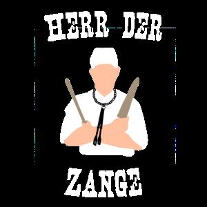 """Herr der Zange"" Grill-Motiv"