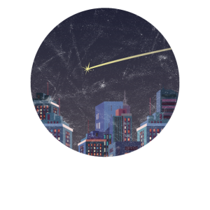 Komet Sternschnuppe Nachthimmel Sternenhimmel