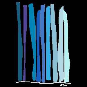 Abstract design Die Quelle des Wasserfalls