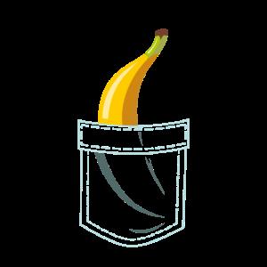 Banana In Pocket - Obst Tropisch Frucht Ernährung