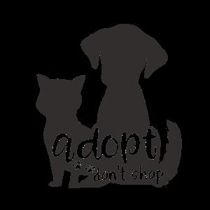 Adopt Don't Shop - Hund Katze adoptieren Tierheim