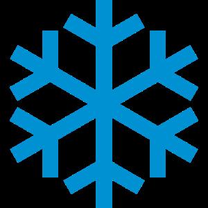 Schneeflocke Wetter Symbol Icon
