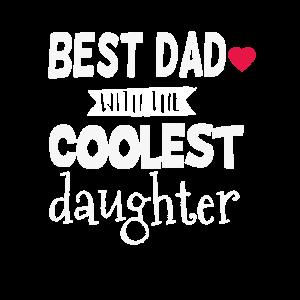 BEST DAD DAUGHTER Vater Tochter Papa Geschenk