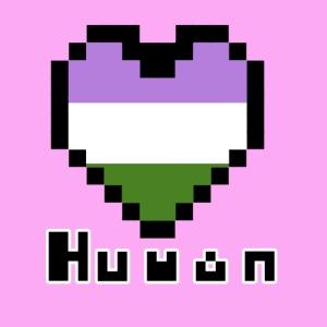 Pride heart genderqueer