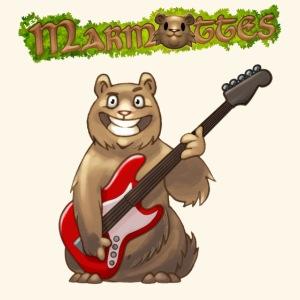 Tshirt Homme Marmotte Bassiste