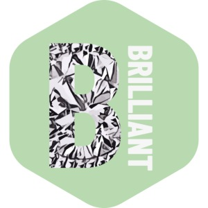 B brilliant green