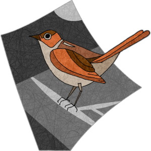 Vogel Nachtigall
