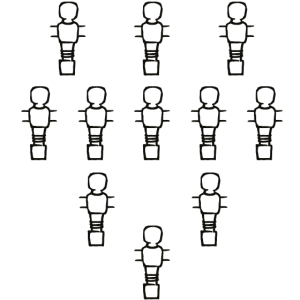 Tischfussball Figuren