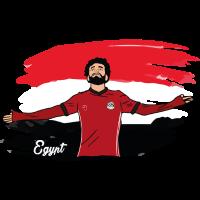 Ägypten Tshirt Weltmeisterschaft 2018 Fahne fan