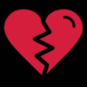 Gebrochenes Herz, Herzschmerz,unglücklich verliebt