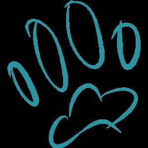 Fussprint Fussabruck Hund