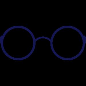 Brille Hipster Brillenschlange Geschenk Nerd