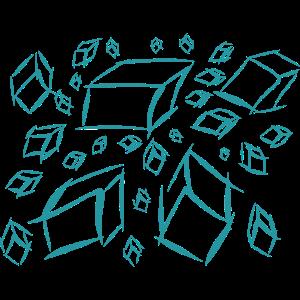 Cubes Wuerfel Durcheinander