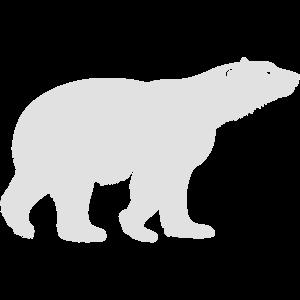 Ice Bear Silhouette