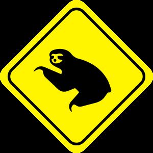 Sloth Warning