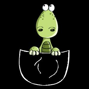 Kleiner Dino In Der Tasche - Poket - Dinosaurier