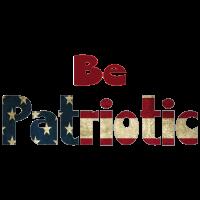 Amerika sei patriotisch