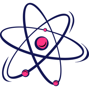 atomic Big Bang nerd Geschenk Atom Nuklear