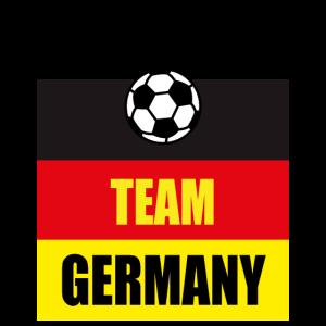 47 Team Germany Fußball Deutschland Fahne Krone