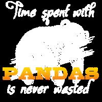 Zeit mit Pandabären