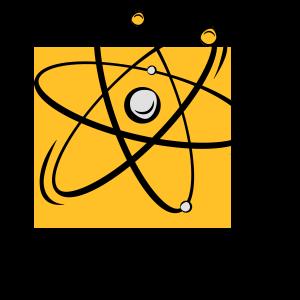 Atomic Geschenk Moleküle Atom