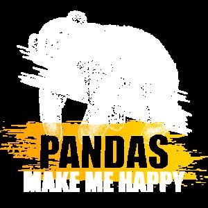 Pandabären machen mich glücklich