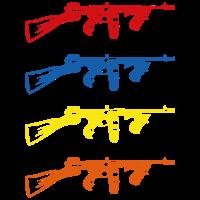 Retro Tommy Gun