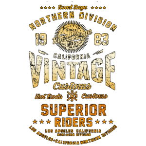 Biker Shirt Vintage Nothern Division Motorcycle or