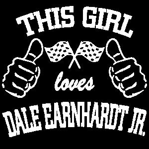 This girl love Dale Earnhardt Jr.