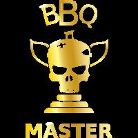 BBQ Meister Grillen Gold Pokal