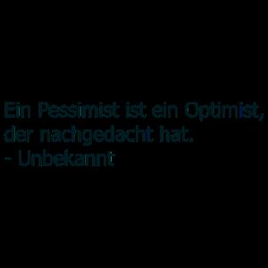 Zitat Pessimist
