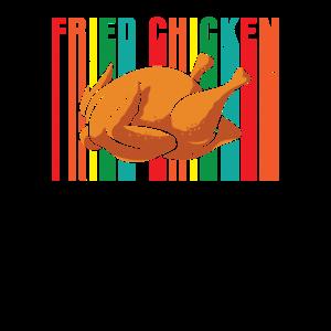 Gebratenes Huhn Regenbogen Geschenk