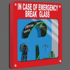 Emergency box - kiteboard