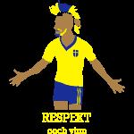 SWEDEN Respekt ooch vinn