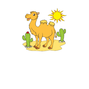 Kamel - Fröhliches Kamel-Motiv