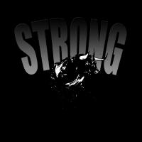 Stier stark strong