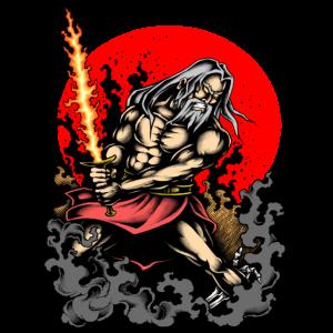 Warrior Tattoo Krieger Gaming