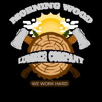 Morning Wood Lumber Company - Lustiger Holzfäller