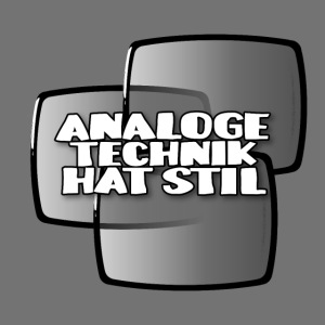 Analog teknologi har stil