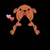 BABY DOG HUNDE WELPE DOGS HUNDEFREUND GESCHENK