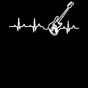 Geschenk für echte Gitarre und Rock Fans T-shirt